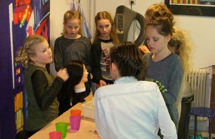 Make-up kinderfeest